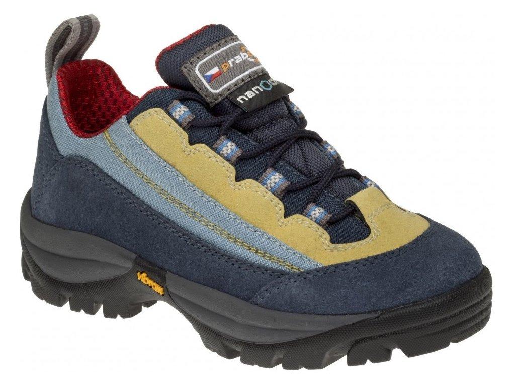 6d3d8aa64e0 Dětské trekové boty Prabos Peppino avio