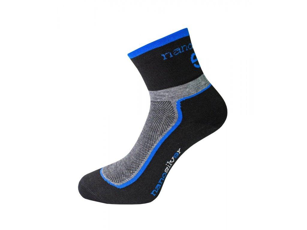 nanosilver coolmax cyklo ponozky se stribrem