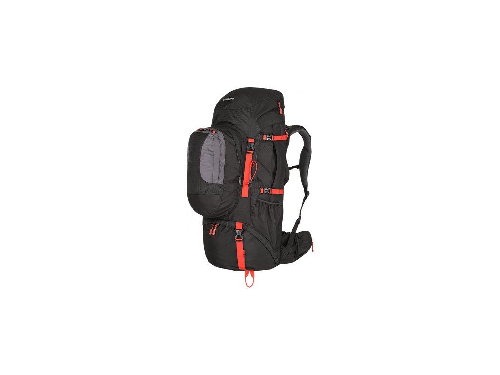 Husky Samont 70L+10L expediční batoh černý