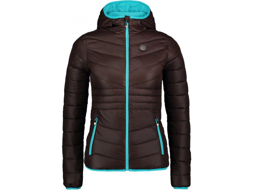 nordblanc glamor damska prosivana bunda hneda