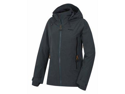 husky-nakron-damska-outdoorova-bunda-cerna-mentolova