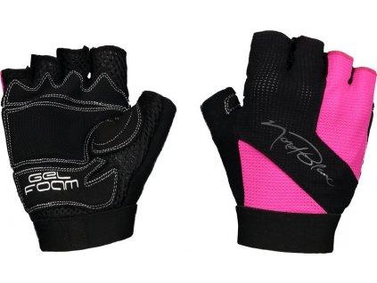 nordblanc-speedster-damske-cyklisticke-rukavice-ruzove