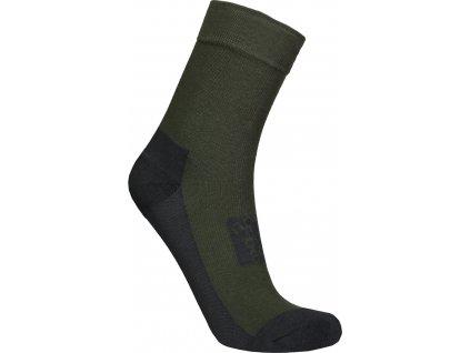 nordblanc-impact-outdoorove-ponozky-khaki