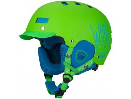 woox-brainsaver-lyzarska-helma-zelena