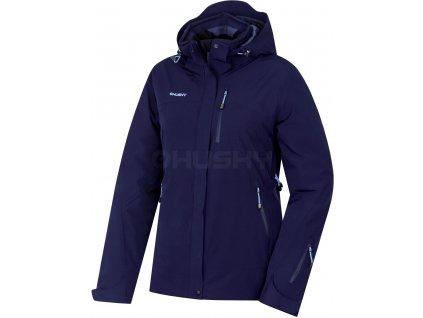 HUSKY GAIRI L dámská lyžařská bunda tm.modrá
