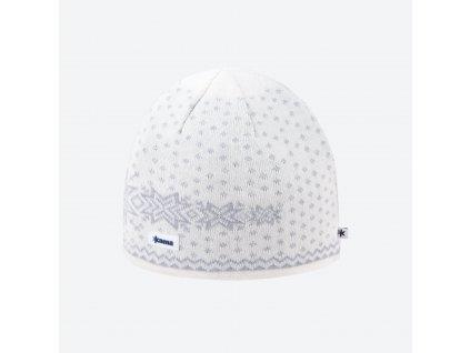 Kama A 128-101 pletená merino čepice přírodně bílá