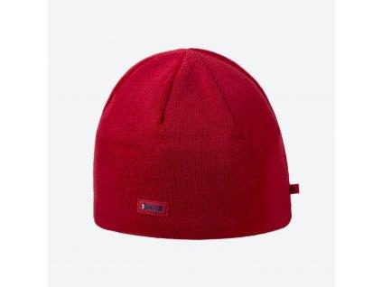 Kama A 02-104 pletená merino čepice červená