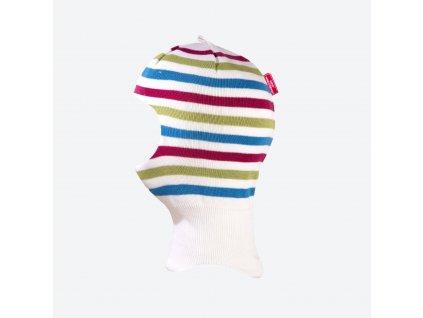 Kama DB 21-100 dětská pletená merino kukla bílá