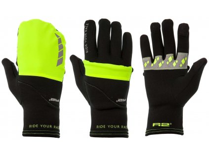 relax r2 cover zateplene rukavice neonove zlute4