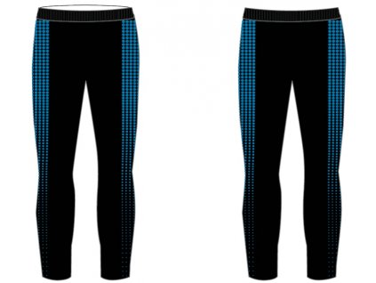 relax r2 dots chlapecke funkcni kalhoty cerno modre