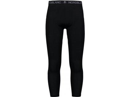 Nordblanc Tensile pánské termo merino kalhoty černé