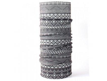 husky printemp multifunkcni satek grey triangle stripes