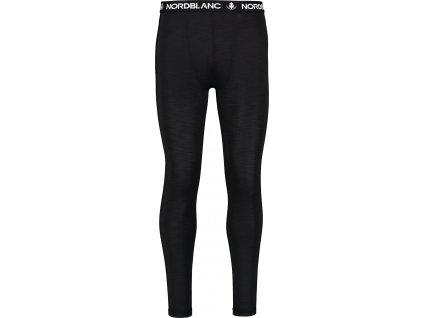 Nordblanc Fallen pánské lehké termo kalhoty černé
