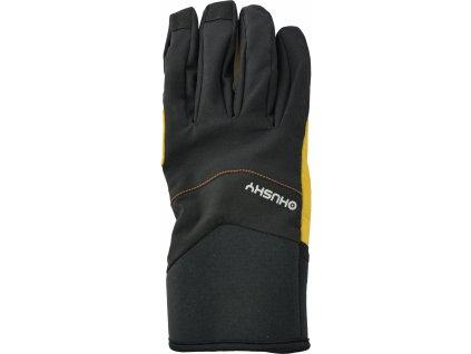 husky-ergon-panske-zimni-rukavice-cerne