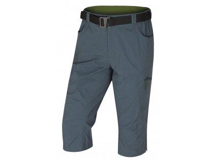 husky-klery-3/4-panske-kalhoty-tmave-sede