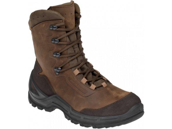 Prabos Vagabund High taktické outdoorové boty loamy brown  + zdarma ponožky Prabos Air-Tec ( 149 Kč )