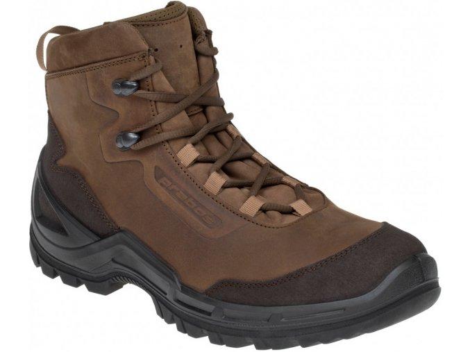 Prabos Vagabund Ankle taktické outdoorové boty loamy brown