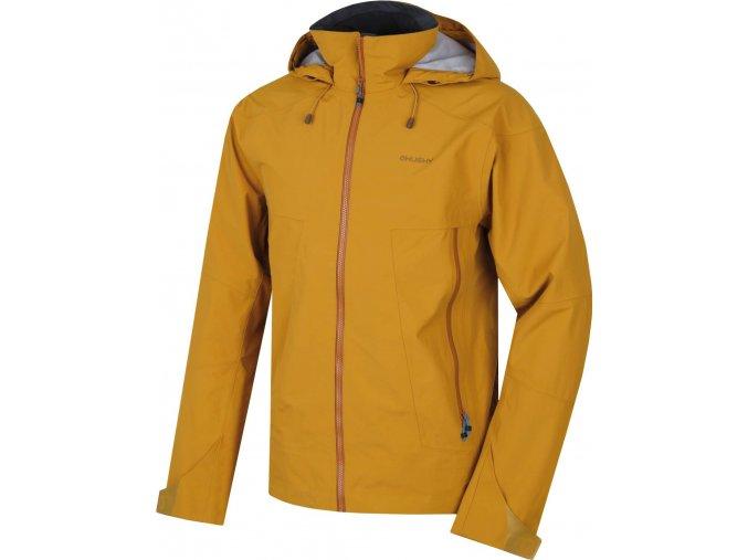 Husky Nakron M pánská outdoorová bunda okrová