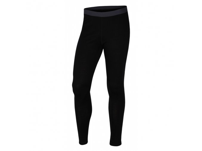 Husky Merino 100 dámské termo kalhoty černé