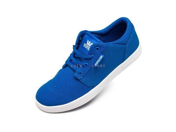 SUPRA YORKER LOW dětské streetové boty modré