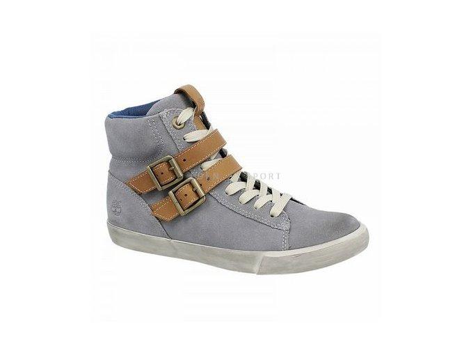 TIMBERLAND  HITOP dámské kotníkové boty šedé