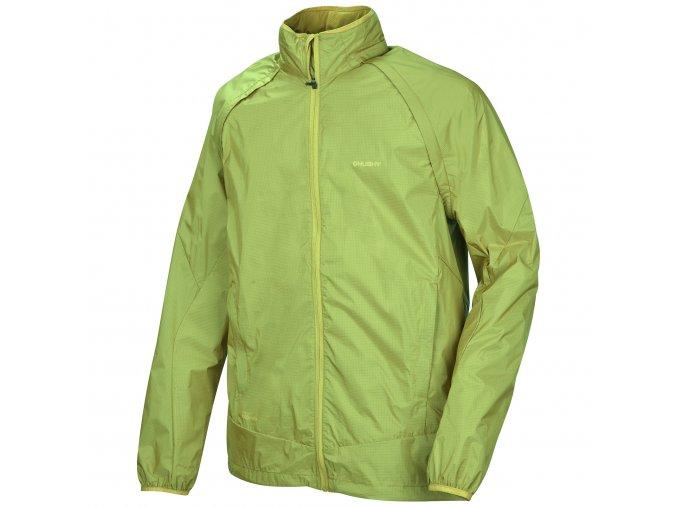 husky-nolen-panska-outdoorova-bunda-zelena