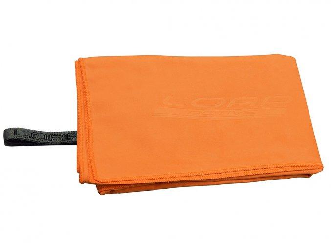 Loap Cobb sportovní ručník oranžový