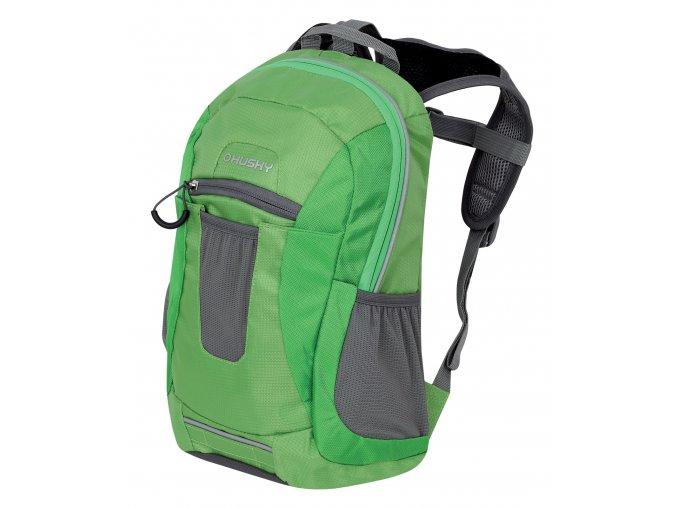 husky-jemi-10l-detsky-batoh-zelena