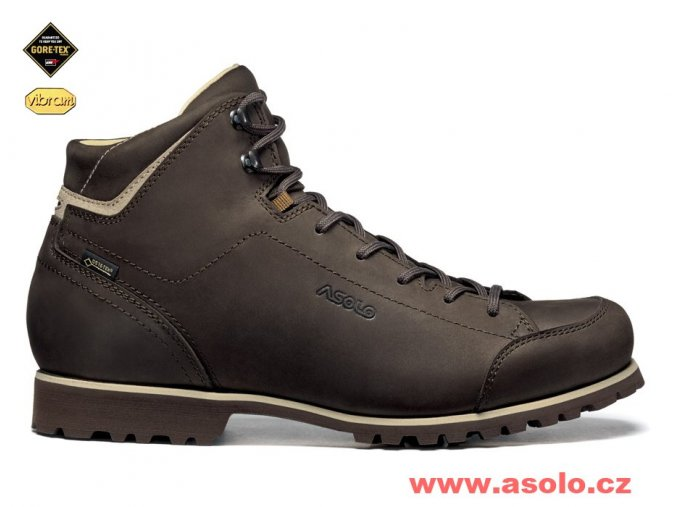 asolo icon gv dark brown date a829 panske trekove boty