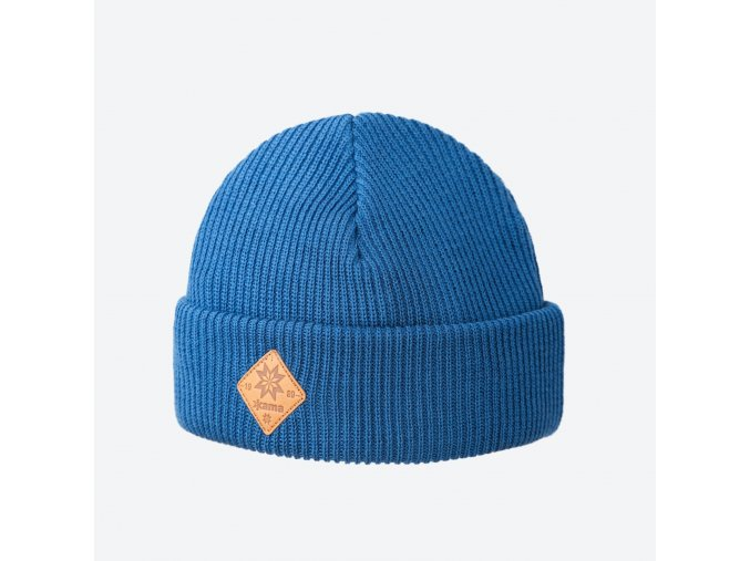 kama a 136 107 pletena merino cepice svetle modra