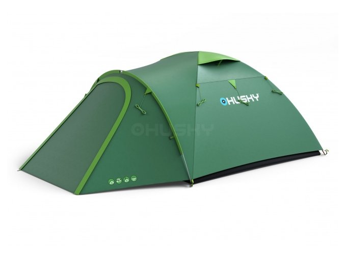 Husky Stan Outdoor Bizon 4 plus zelená