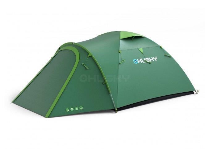 Husky Stan Outdoor Bizon 4 plus zelená