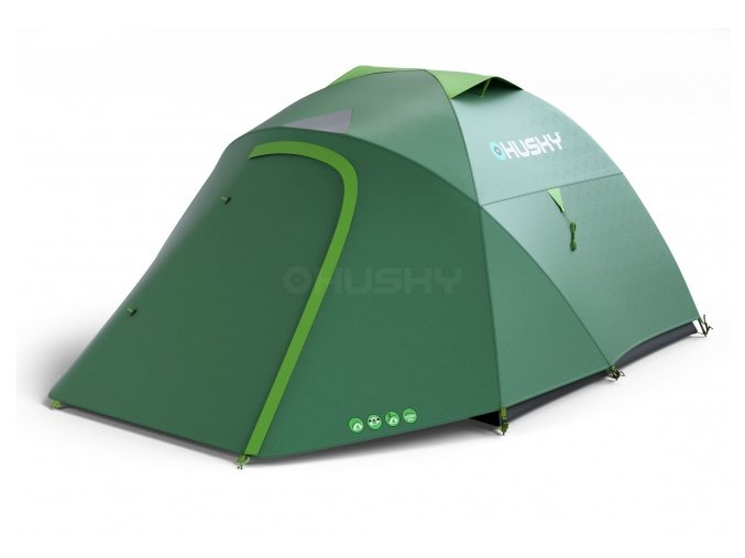 Husky Stan Outdoor Bonelli 3-sv.zelená