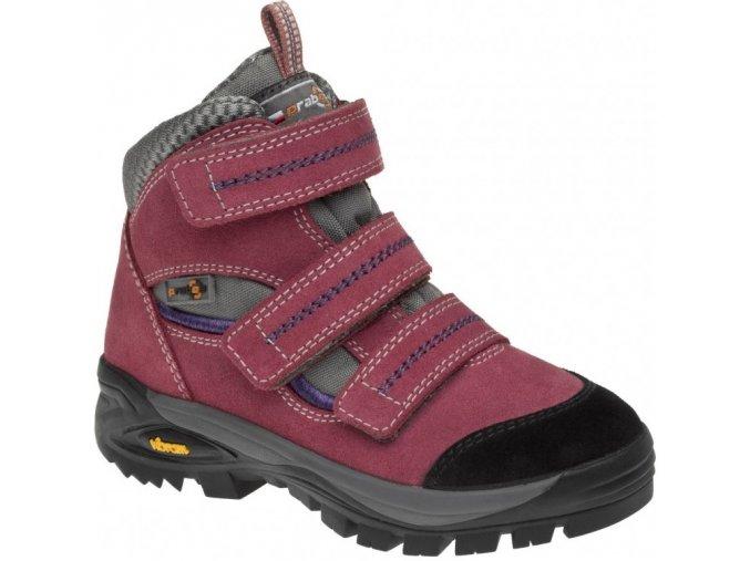 Prabos Rosetta Ciclamino dětské trekové boty