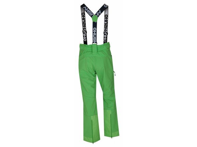 husky-galti-damske-lyzarske-kalhoty-zelene