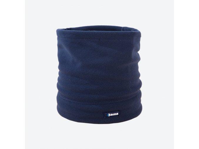 kama s 27 108 fleecovy nakrcnik cepice tmave modry