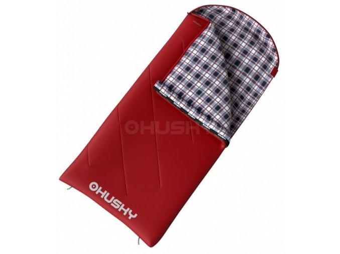 Husky Kids Galy -5°C dětský dekový spací pytel červený