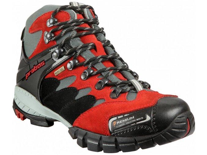 Prabos Api GTX trekové boty červené