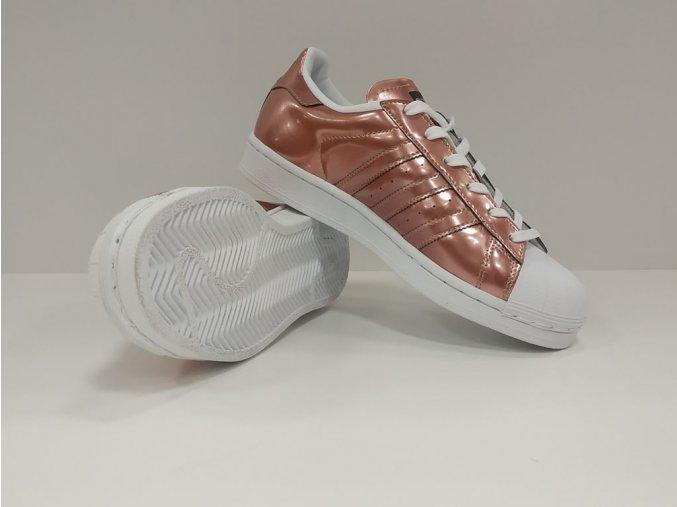 adidas superstar damske boty kovove ruzove 6
