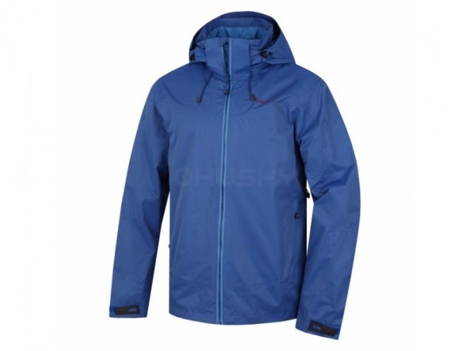 Husky Nelory M pánská outdoorová bunda modrá