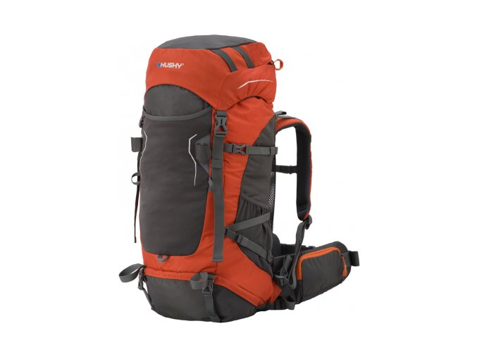 Husky RonyY 50L expediční ultralight batoh oranžový