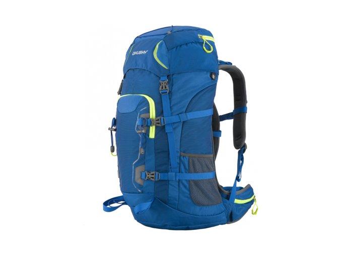 Husky Sloper 45L expediční batoh modrý