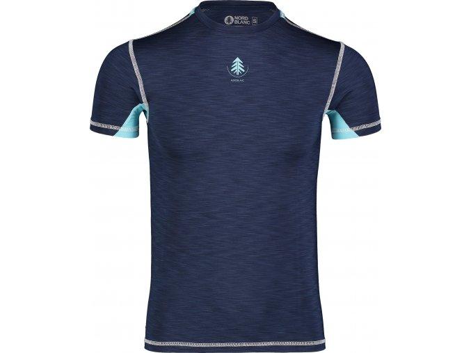 Nordblanc Mingy pánské lehké termo tričko tmavě modré