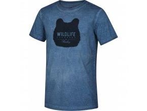 Husky Tendy pánské tričko modré