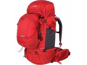 Husky Ravel 70+10l expediční batoh červený