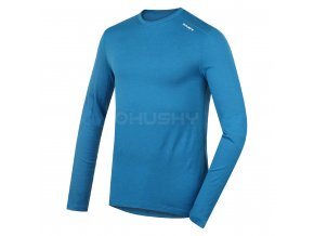 Husky Merino DL pánské termo tričko modré