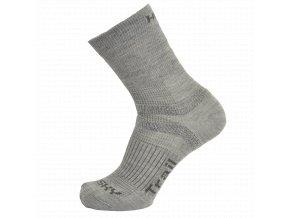 Ponožky - Trail sv. šedá
