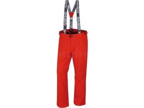 Husky Galti M pánské lyžařské kalhoty červené