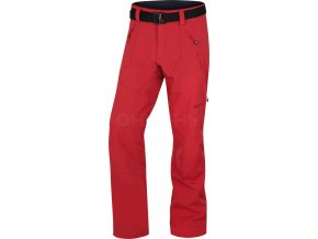 husky-kresi-panske-outdoorove-kalhoty-cervene