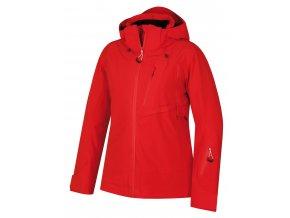 Husky Mayni L dámská lyžařská bunda červená